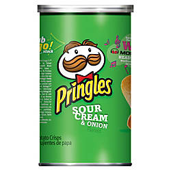 Pringles Keebler Sour Crm Onion Potato