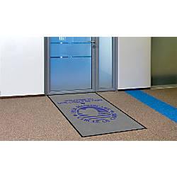 Indoor Logo Nylon Floor Mat Portrait