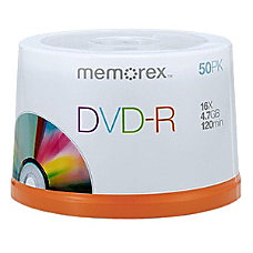 Memorex DVD Recordable Media DVD R