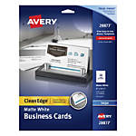 Avery Two Side Printable Clean Edge