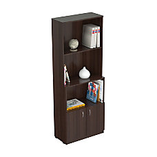 Inval Bookcase With Storage Area 62