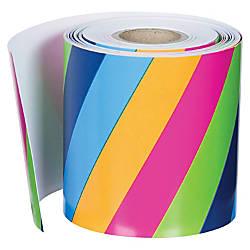 Carson Dellosa Colorful Stripes Straight Border