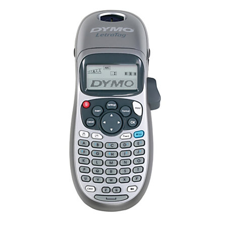 dymo letratag lt 100h plus handheld label maker by office. Black Bedroom Furniture Sets. Home Design Ideas