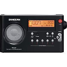 Sangean PR D7 Desktop Clock Radio