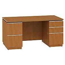 BBF Milano2 Double Pedestal Desk 29