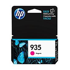 HP 935 Magenta Ink Cartridge C2P21AN140