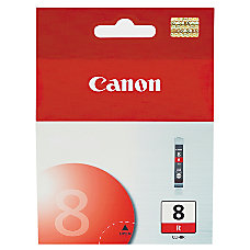 Canon CLI 8R Red Ink Tank