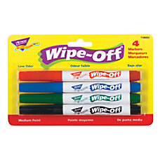 Trend Enterprises Wipe Off 4 Color