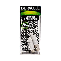 Duracell Fabric Micro USB Cable 6