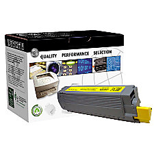 CTG CTGC6100Y OKI 43324417 Remanufactured Yellow