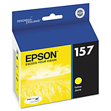 Epson 157 T157420 Yellow Ink Cartridge