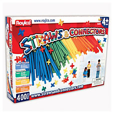 Roylco Straws And Connectors 8 x