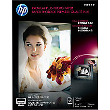 HP Premier Plus Photo Paper For