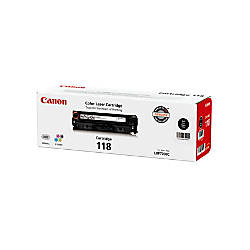 Canon 118 Black Toner Cartridge 2662B001AA