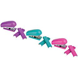Office Depot Brand Mini Stapler Assorted