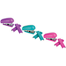 Office Depot Brand Mini Stapler Assorted