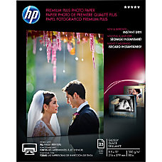 HP Premium Plus Photo Paper Letter