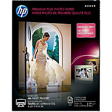 HP Premier Plus Photo Paper Letter