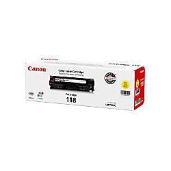 Canon 118 Yellow Toner Cartridge 2659B001AA