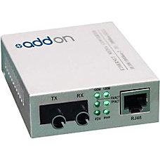 AddOn 10100Base TXRJ 45 to 100Base