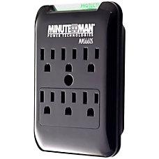 Minuteman SlimLine MMS660S 6 Outlets Surge