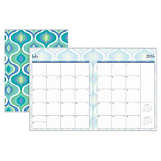 Blue Sky Monthly Planner 8 12