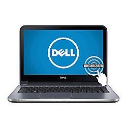 """Dell™ Inspiron 14R (5437) (i14RMT-7222sLV) Laptop Computer With 14"""" HD Touch-Screen Display & 3rd Gen Intel® Core™ i3 Processor"""