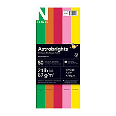 Neenah Astrobrights Bright Color 10 Envelopes