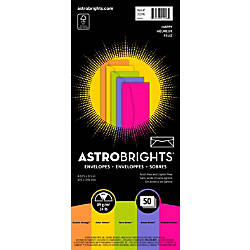 Neenah Astrobrights Bright Color Envelopes 10