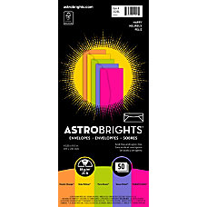 Neenah Astrobrights Bright Color Envelopes 10