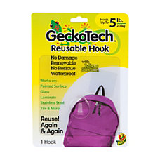 GeckoTech Reusable Adhesive Free Hook 5