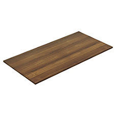 Lorell Chateau Walnut 8 Rectangular Conference