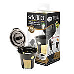 Solofill Cup K3 Gold Refillable Filter