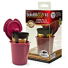 Solofill Cup V1 Gold Refillable Filter