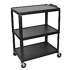 Luxor X Large Audiovisual Utility Cart
