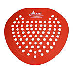 Rochester Midland Red Vinyl Urinal Screen
