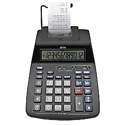 Ativa At P1000 Printing Calculator By Office Depot Amp Officemax