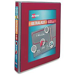 Avery Ultralast Heavy Duty View Binders