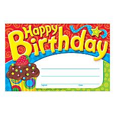 TREND Bake Shop Happy Birthday Awards