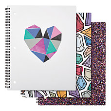 Divoga Spiral Notebook Shine Bright Collection