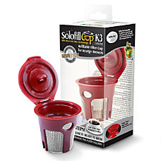 Solofill Cup K3 Chrome Refillable Filter