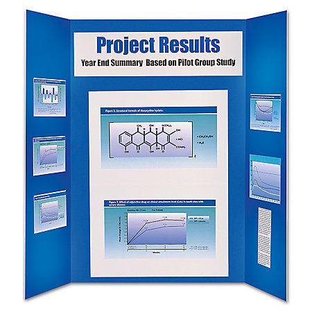 Office depot brand premium foam display board 36 x 48 blue for Office display board