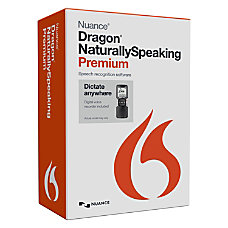 Nuance Dragon NaturallySpeaking v130 Premium Mobile