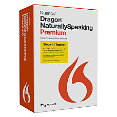 Nuance Dragon NaturallySpeaking v130 Premium StudentTeacher