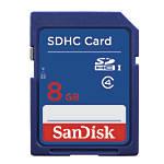 SanDisk SDHC Memory Card 8GB DV7766