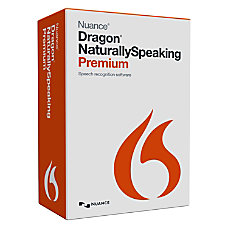 Nuance Dragon NaturallySpeaking v130 Premium Version