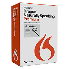 Nuance Dragon NaturallySpeaking v130 Premium Wireless