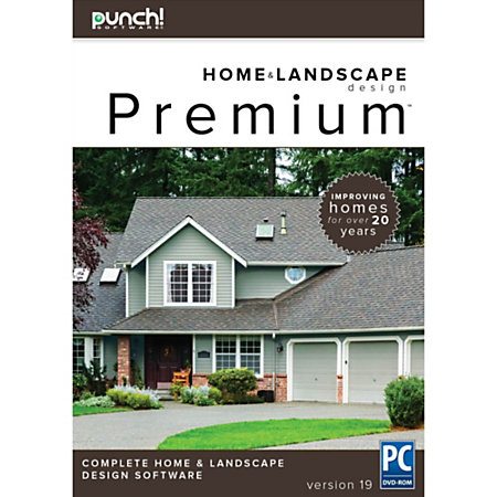 Punch premium v19 for pc download version by office depot for Punch home landscape design premium review