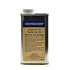 Grumbacher Linseed Oil 8 Oz Pack