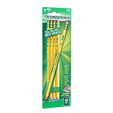 Ticonderoga Woodcase Pencils The Original Pack